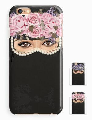 floral niqab