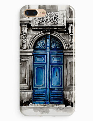 Old Blue Door   باب أزرق قديم